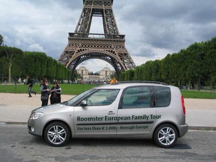 Skoda Roomster European Family Tour: 35 países con menos de 1000 euros de combustible
