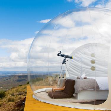 Siete habitaciones de hotel para sentir la naturaleza como nunca antes