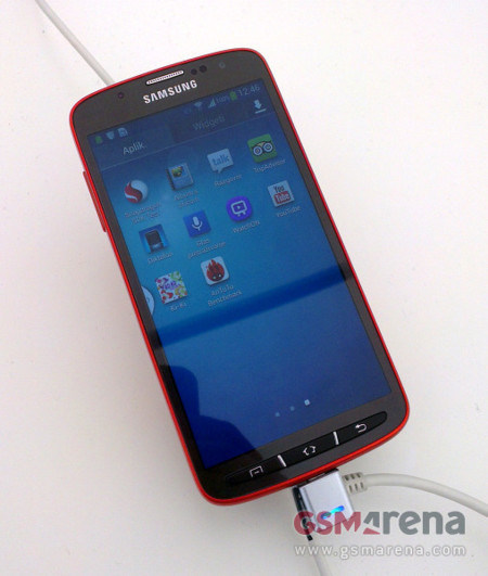 Se filtran las imágenes del Samsung Galaxy S4 Active, un Galaxy S4 metálico y resistente