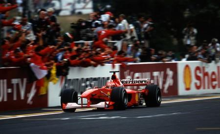Schumacher Japon F1 2000