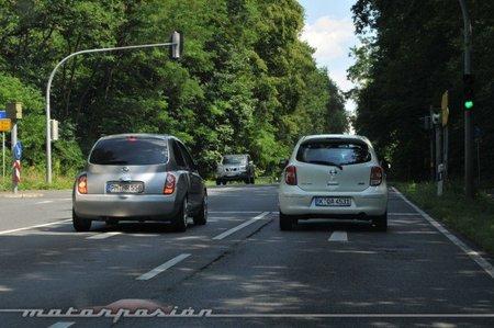 Nissan Micra K13 vs Nissan Micra K12