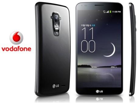 Precios LG G Flex en exclusiva con Vodafone