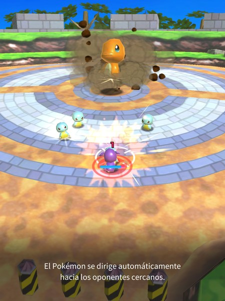 Pokemon Rumble Rush en iPad