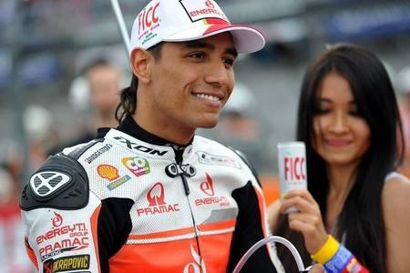 Yonny Hernández renueva con el Pramac Racing para el 2015