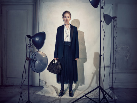 Dior Ready To Wear Fall 2018 Jennifer Lawrence C Brigitte Lacombe 8