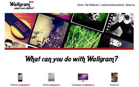 My Wallgram crea fondos de pantallas con tus fotos de Instagram