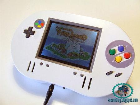Llega la SNEP, la Super Nintendo Portátil