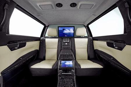 Mercedes-Benz S 600 Pullman Guard, seguridad vestida de limusina