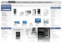Nuevo diseño para la web de la Apple Store