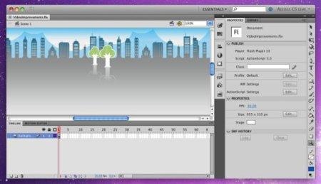 Probamos Adobe Flash CS5: Interfaz más sencilla y características clave que no se podrán usar