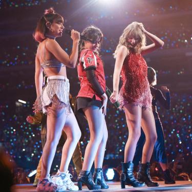 Taylor Swift, Camila Cabello y Charli XCX revolucionan Atlanta con sus voces (y sus lookazos)