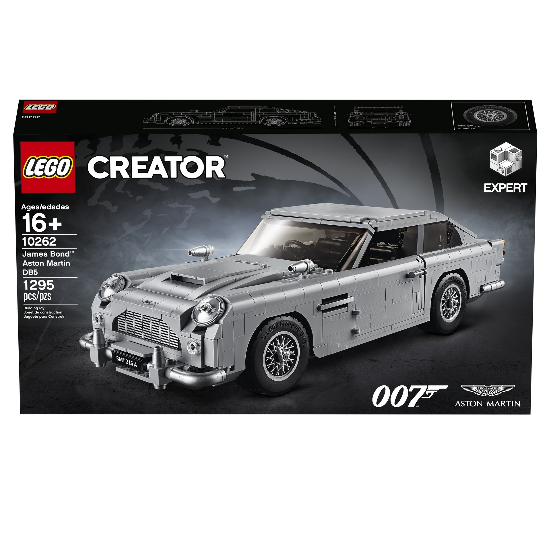 Foto de Aston Martin DB5 007 de LEGO (10/39)
