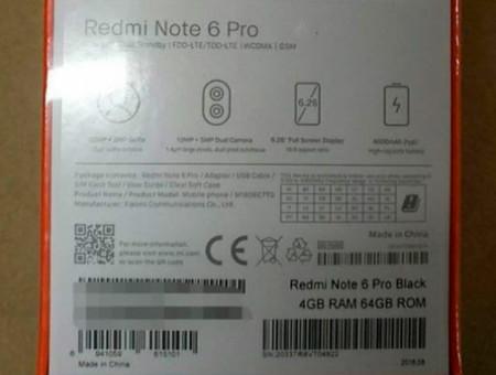 Xiaomi Redmi Note 6 Pro 2
