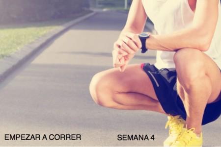 Entrenamiento para empezar a correr: semana 4