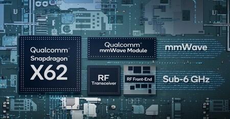 Qualcomm Snapdragon X62, un nuevo módem 5G con hasta 4,4Gbps de descarga y Android como destino