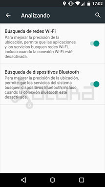 Búsqueda Bluetooth