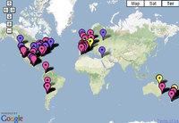 Gripe porcina: seguimiento por Google maps