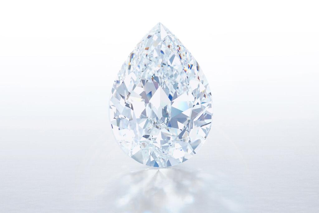 Este diamante de 101 quilates (valorado en 10-15 millones de dólares) se va a subastar y se podrá comprar con criptomonedas