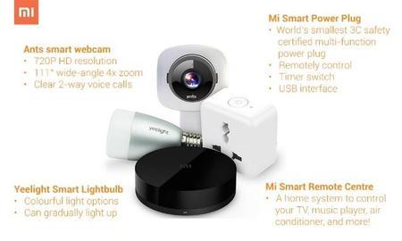 Mi muestra sus nuevos dispositivos para la conquista del hogar digital