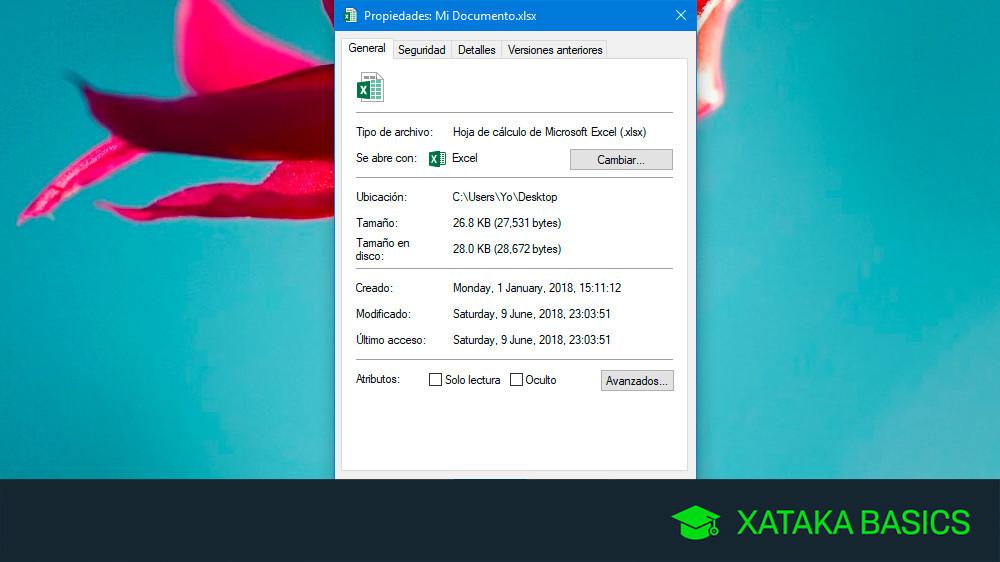 Cómo cambiar la fecha de un archivo en Windows