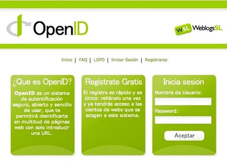 Identificación en Open Id