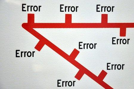 La solución es más importante que el error