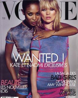 Kate Moss y Naomi Campbell juntas en Vogue Paris