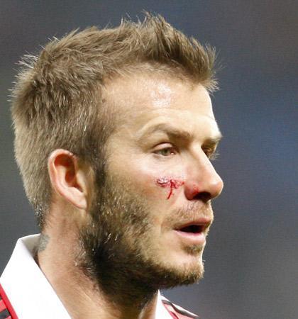 David Beckham no jugará la Copa del Mundo