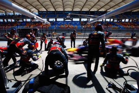 Las paradas en boxes de Red Bull también marcan la diferencia