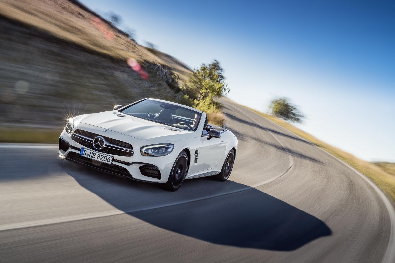 Foto de Mercedes-Benz SL 2016 (1/32)