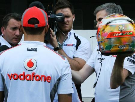 Lewis Hamilton desconoce las novedades que lleva en su auto
