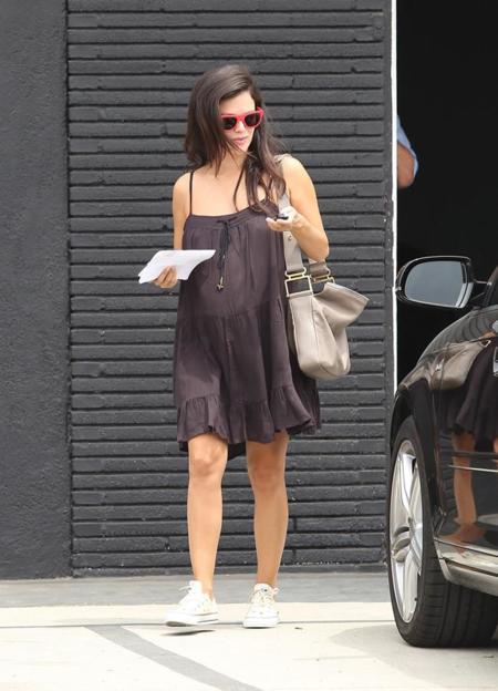rachel bilson embarazo estilo
