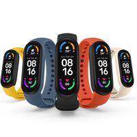 """Xiaomi Mi Smart Band 6: diseño """"todo pantalla"""", medición de oxígeno en la sangre y monitoreo de 30 tipos de ejercicio"""