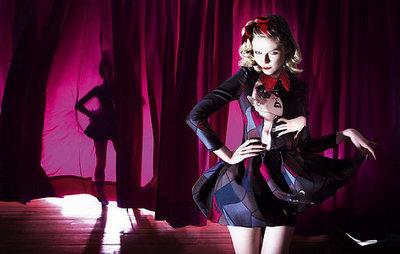 Más imágenes de Kirsten Dunst para Miu Miu primavera / verano 2008