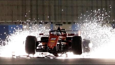 Vettel Chispas
