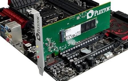 Plextor anuncia línea de SSDs M6 Series, incluye modelo PCIe para gamers