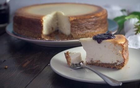 Cheesecake de coco con limón. Receta fácil