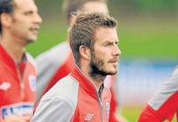 ¡David Beckham, con barbita está tremendo!