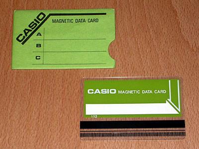 Casio tarjetas