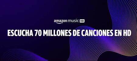 Si eres usuario de Amazon Music Unlimited ahora ya puedes pasarte gratis a la versión con audio en HD y sin pérdidas