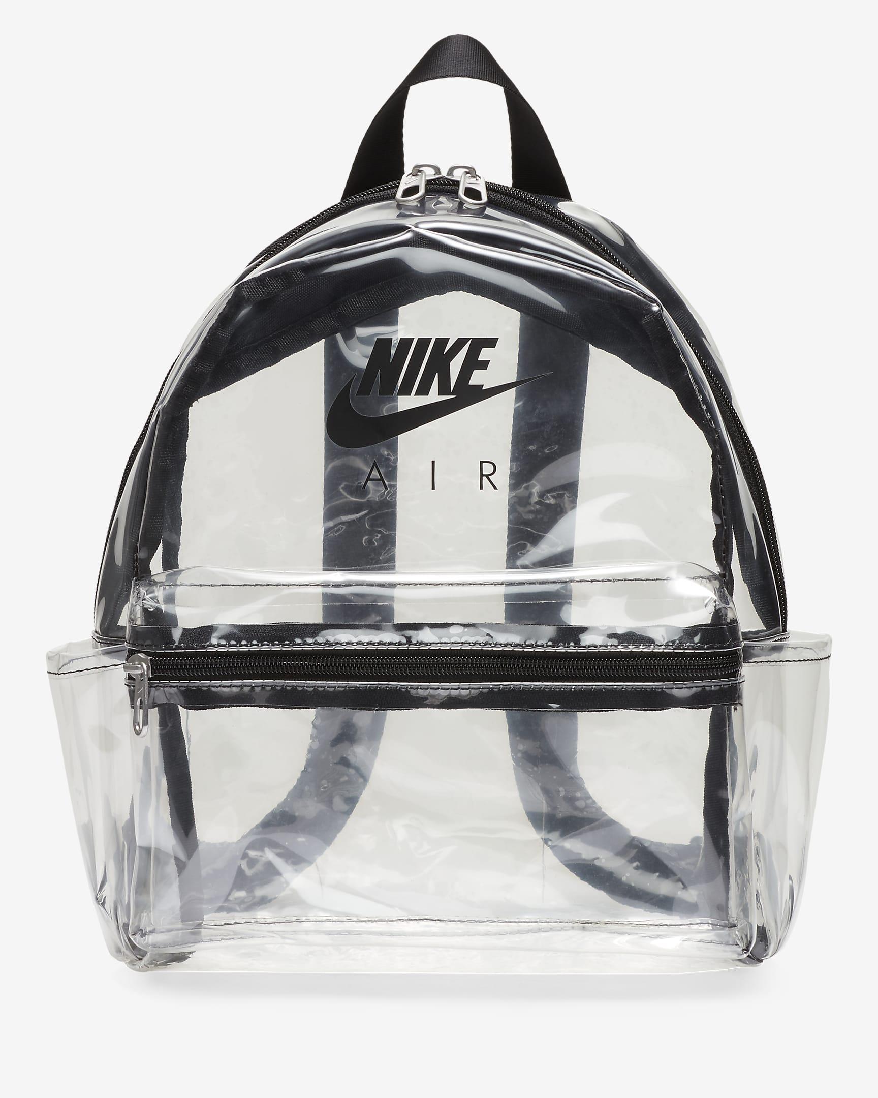 Mini mochila transparente de Nike Air