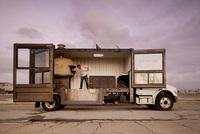 Del Popolo, una pizzería tradicional en un camión