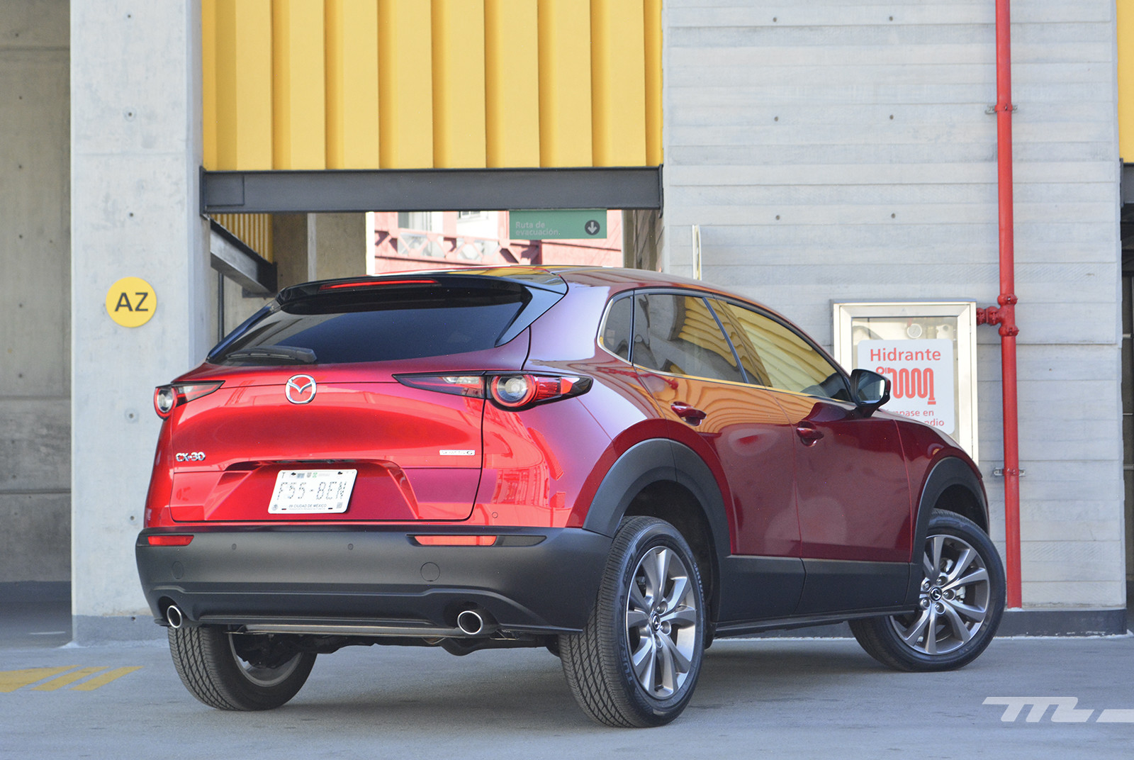 Foto de Mazda CX-30 (prueba) (9/25)