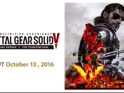 Konami hace oficial Metal Gear Solid V: The Definitive Experience y le pone fecha