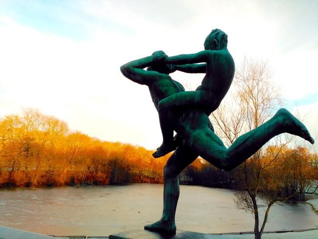 Parques de esculturas en Oslo Vigeland