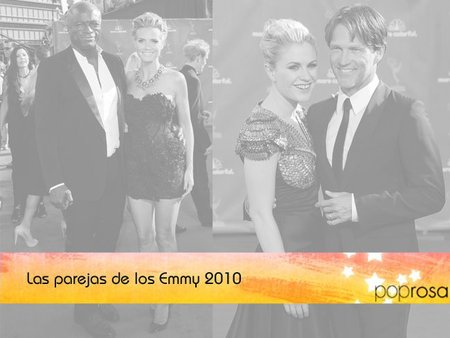 Los Emmy 2010: Parejas de Poprosa