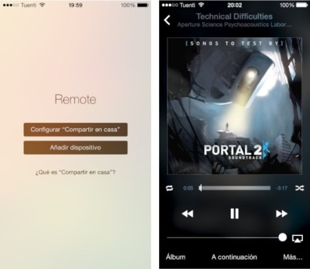 Apple actualiza Remote para iOS