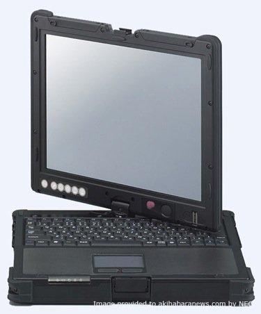 NEC ShieldPRO, TabletPC que lo aguanta todo