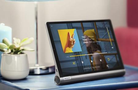 Tableta y asistente doméstico dos en uno: la Lenovo Yoga Smart Tab está bastante más barata en Amazon, por 247,86 euros