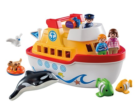 Ideal para playa y piscina set barco malet n de playmobil que flota por 29 98 euros en amazon - Playmobil piscina ballena ...
